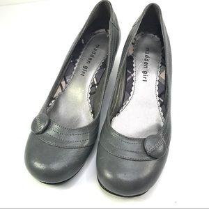 Madden Girl Grey Vegan shoe